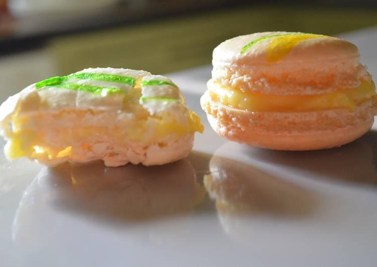 Guide étape par étape pour Faire Récompense-gagner Macarons citron