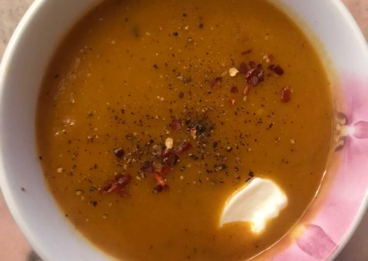 How to Make Super Quick Homemade Butternut squash soup
