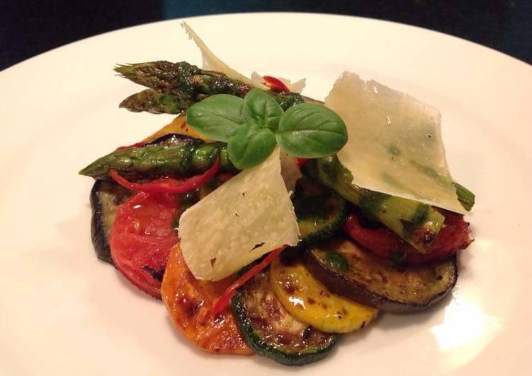 Vegetable Antipasti Salad #saladcontest