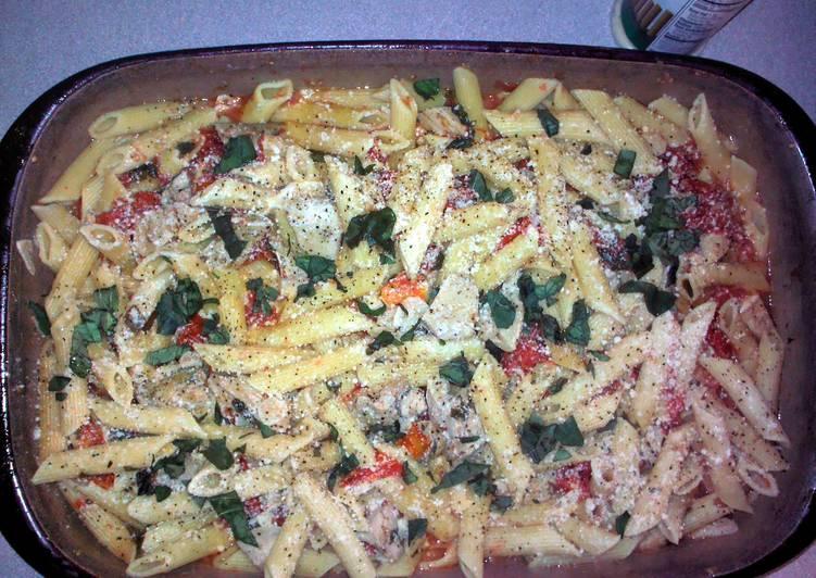 Brenda's Grilled Chicken Penne Al Fresco