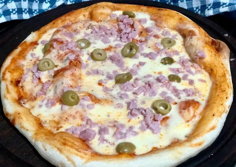 Pizza de masa madre 🍕