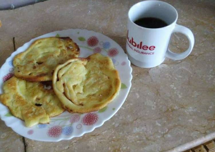 Recipe of Ultimate Custard PanCakes