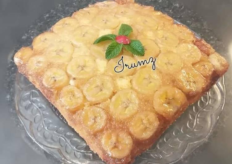Recipe of Award-winning � �Banana Upside Down Cake��