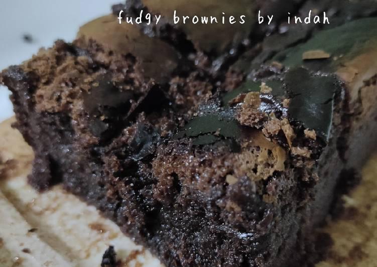 Fudgy Brownies kesukaan anak2