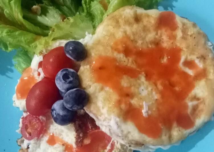 Omelette Telur Putih - Sarapan Sehat