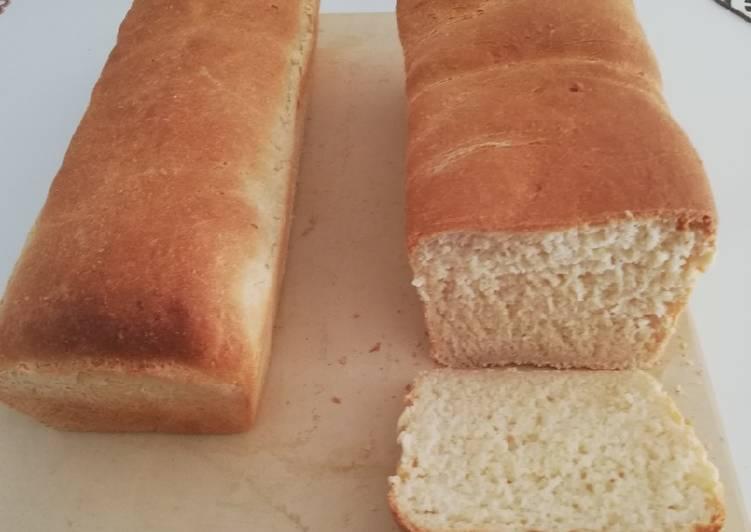 La Délicieuse Recette du Pain de mie à la farine de manioc et de blé 🌾