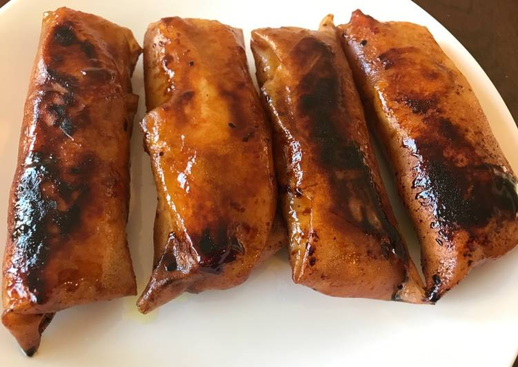 Recipe: Yummy Turon Filipino Banana Lumpia Dessert
