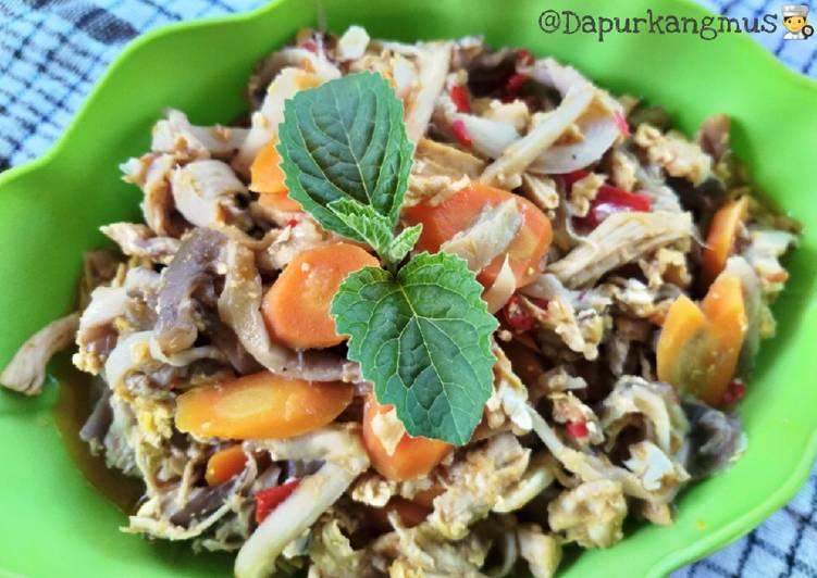 Suir ayam jamur + wortel