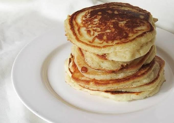 How to Make Quick CINNAMON PANCAKES #BreakfastIdeas