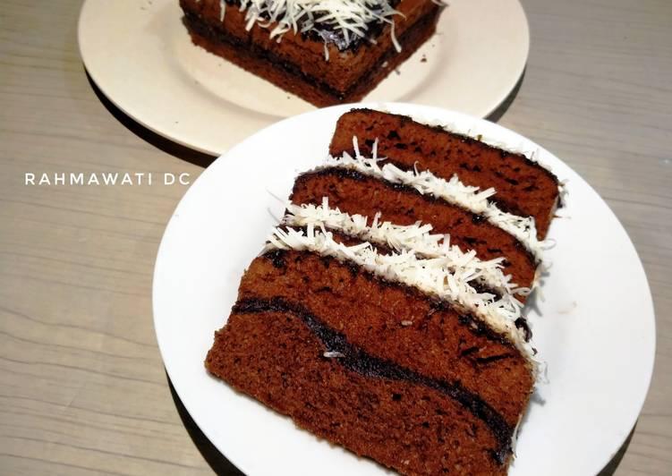Brownies Kukus Tanpa Mixer Lembut dan Legit