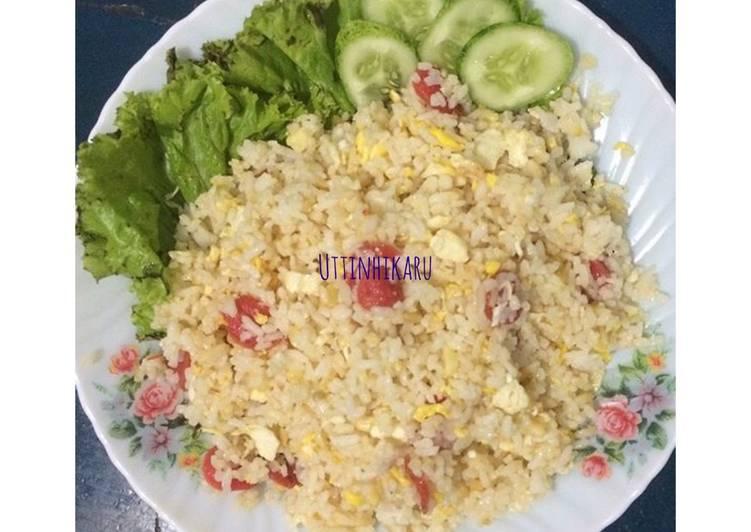 Nasi Goreng Kuning Sederhana No MSG