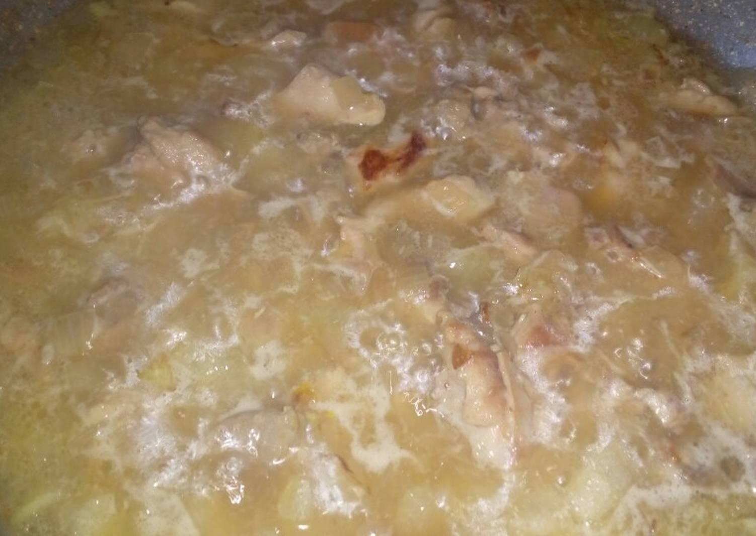 Подлива из курицы рецепт с фото пошагово