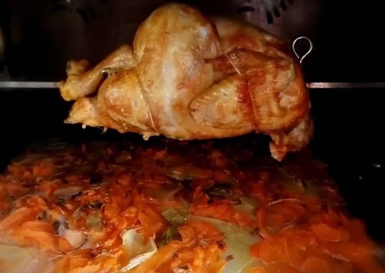 Le moyen le plus simple de Cuire Savoureux Poulet roti avec plat au four #cookexpertmagimix