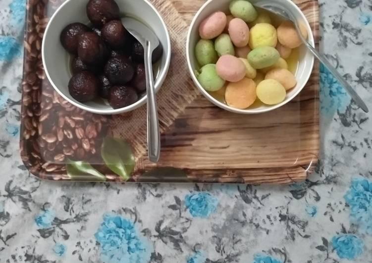 Steps to Make Speedy Rasgulla and gulab jamun