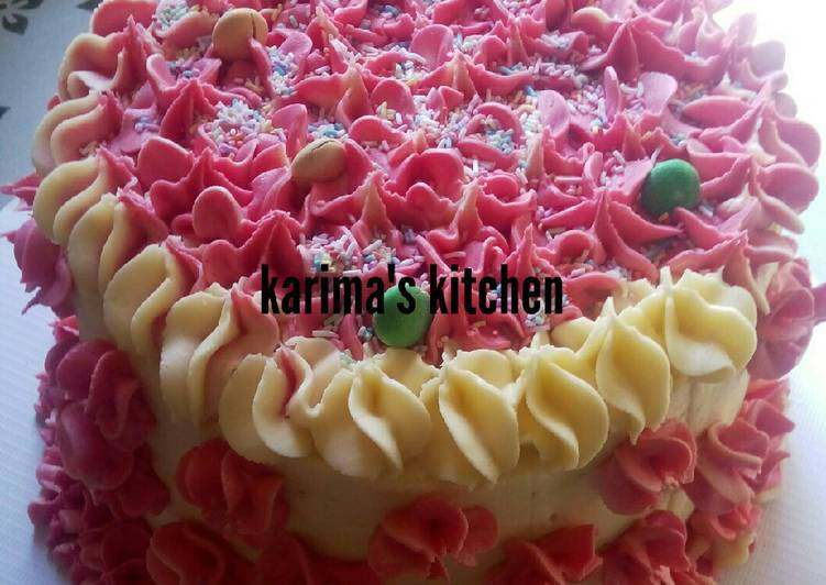 Recipe: 2020 Vanilla birthday cake