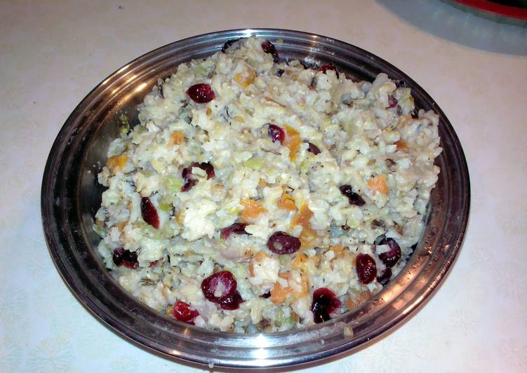 Holiday Brown and Wild Rice Pilaf