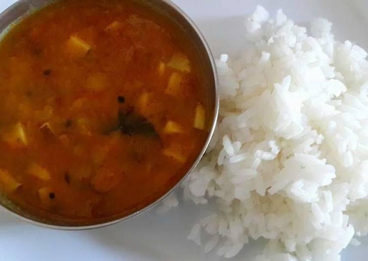 Sambar dal for Rice