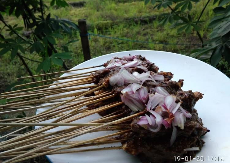 Resep 5.Sate Ayam & Sate Pentol, Sempurna