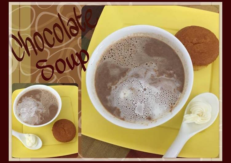 Simple Way to Prepare Favorite Chocolate Soup