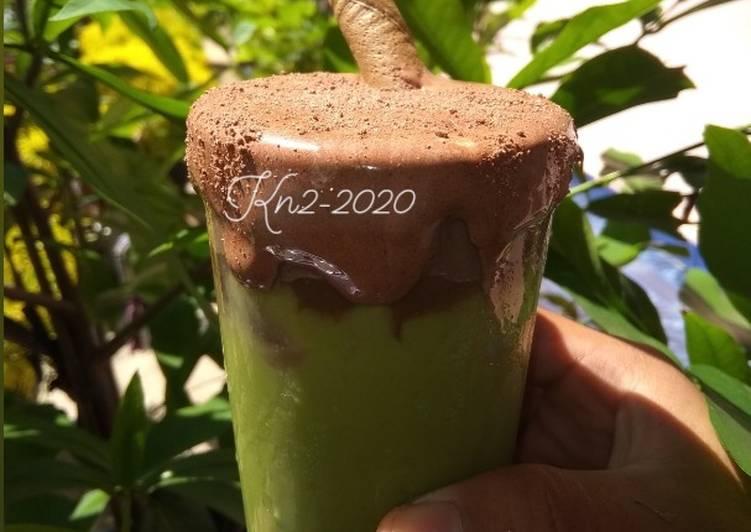 Avocado Dalgona Chocolatos Lumerr