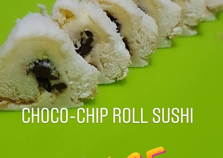 Choco chip roll sushi, cuma 2menit yg penting anak happy