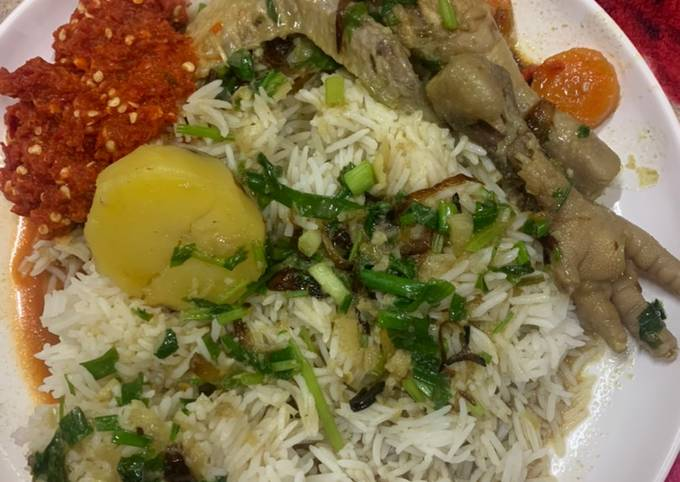 Resep Sup ayam bersama samcan ��, Lezat Sekali