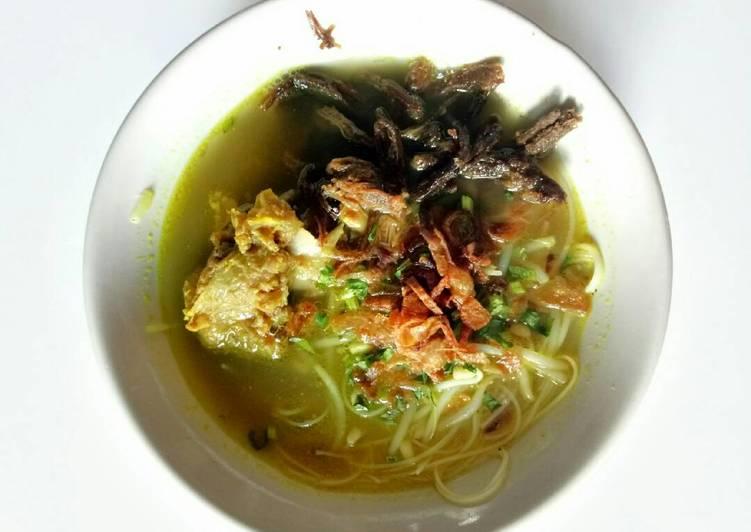 Soto Padang Daging Kriyuk