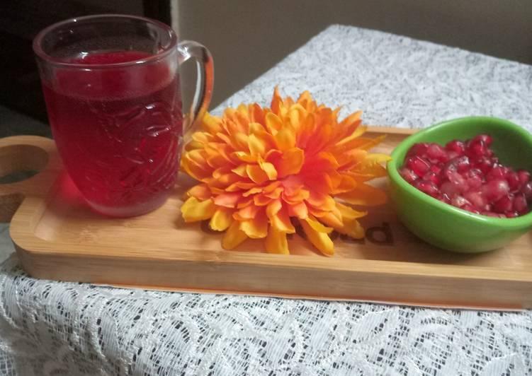 Pomegranate tea