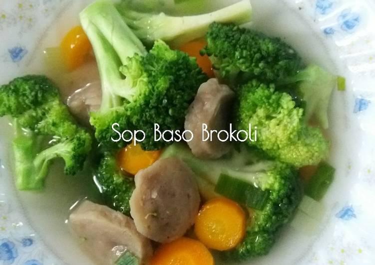 Sop Baso Brokoli