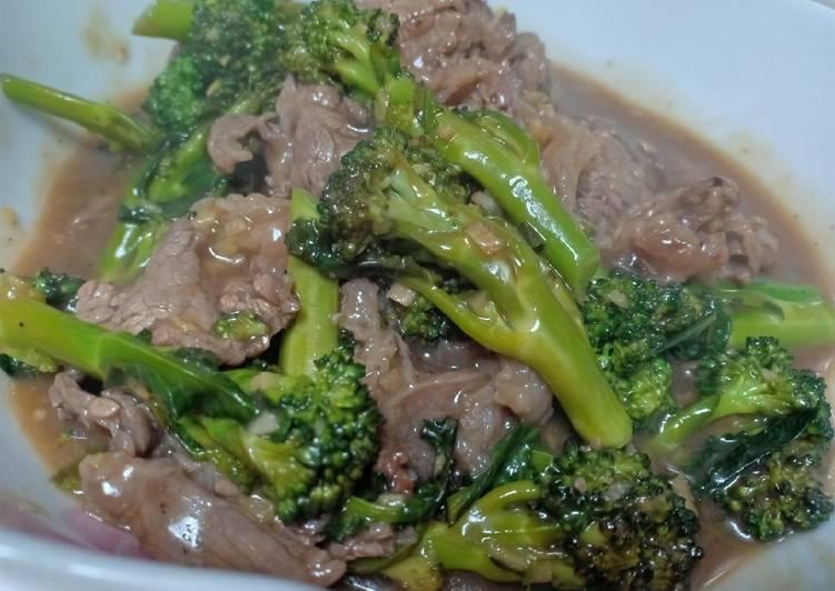 Simple Way to Make Homemade Beef Broccoli