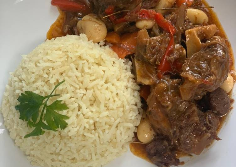 Steps to Prepare Perfect Caribbean Oxtail Stew