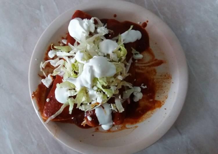 Enchiladas dulces