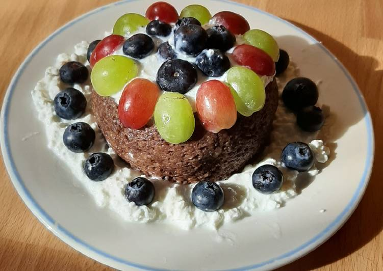 Frühstücks Mug-Cake