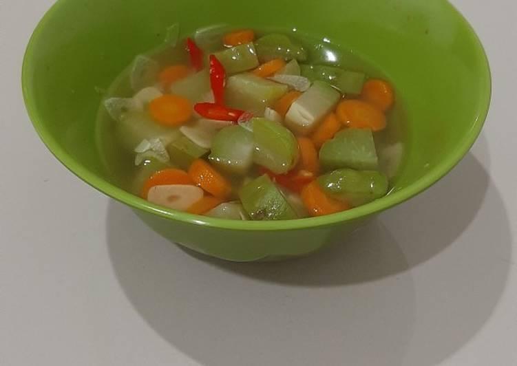 Sayur Labu Siam Bening