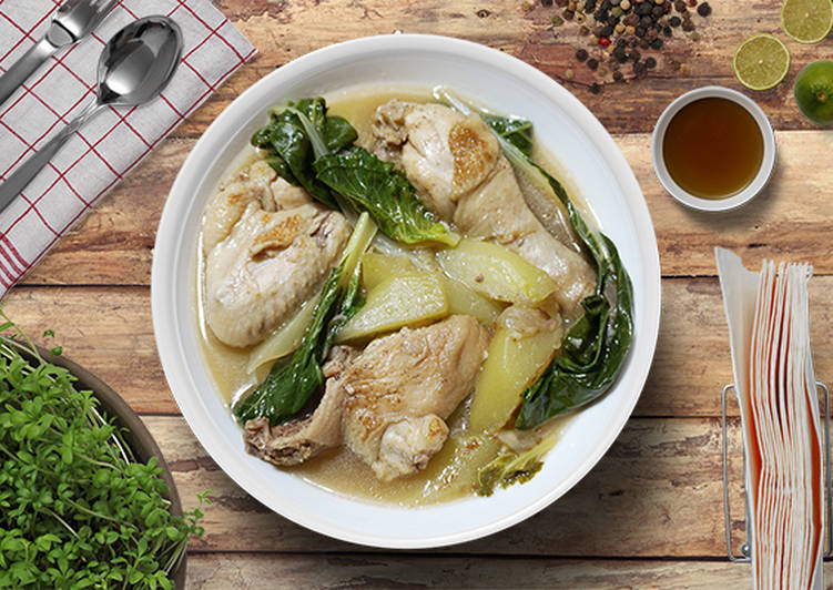 Chicken Tinola with a Twist
