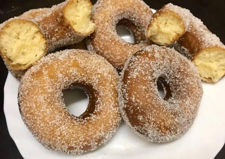 Recipe of Speedy Yeast doughnuts