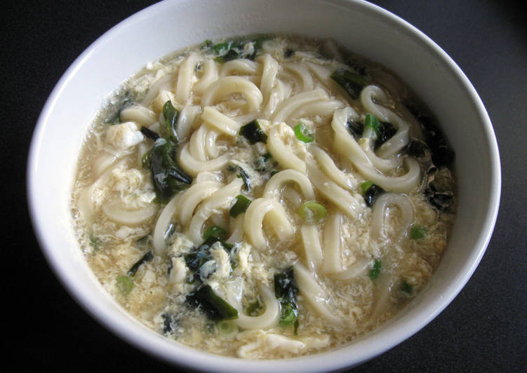 'Nikomi' Simmered Udon & Egg Soup, Helping Your Heart with Food