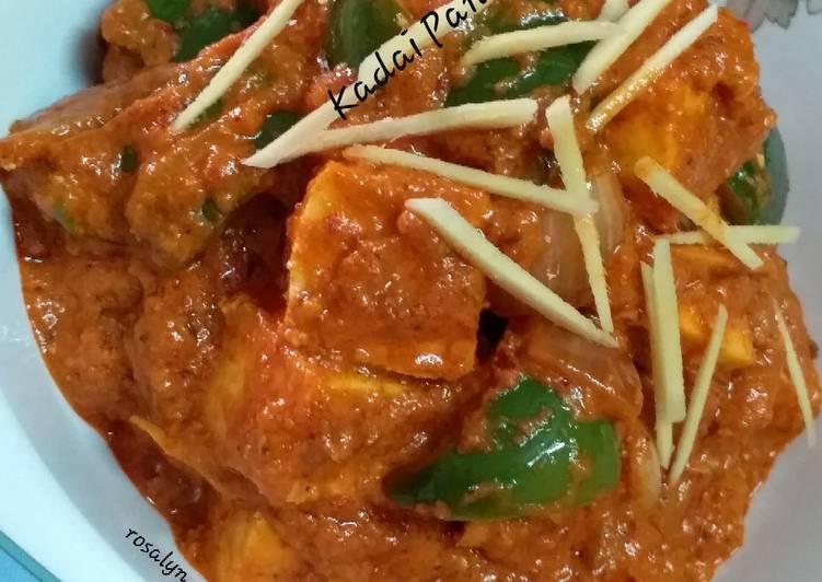 What is Dinner Ideas Diet Perfect Restaurant Style Kadai Paneer