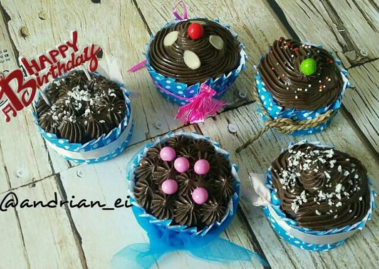 Cupcake Coklat Kukus