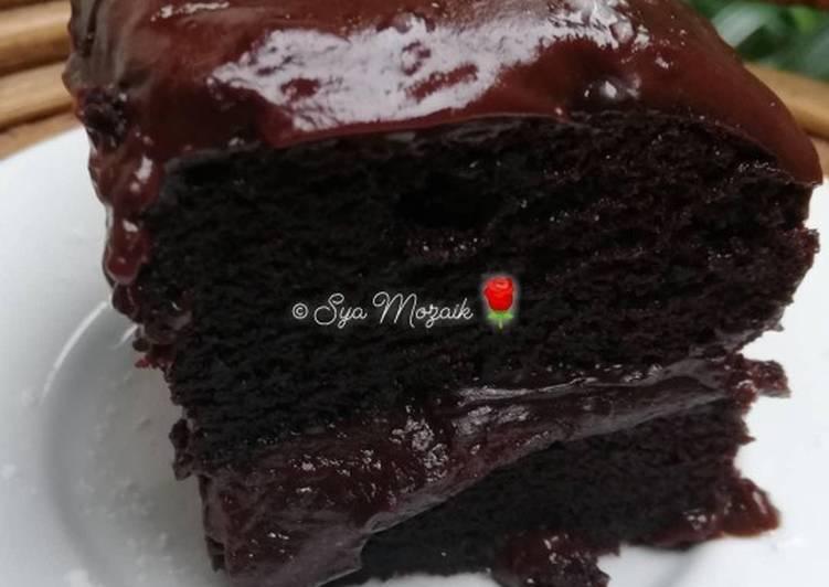 Moist choco cake