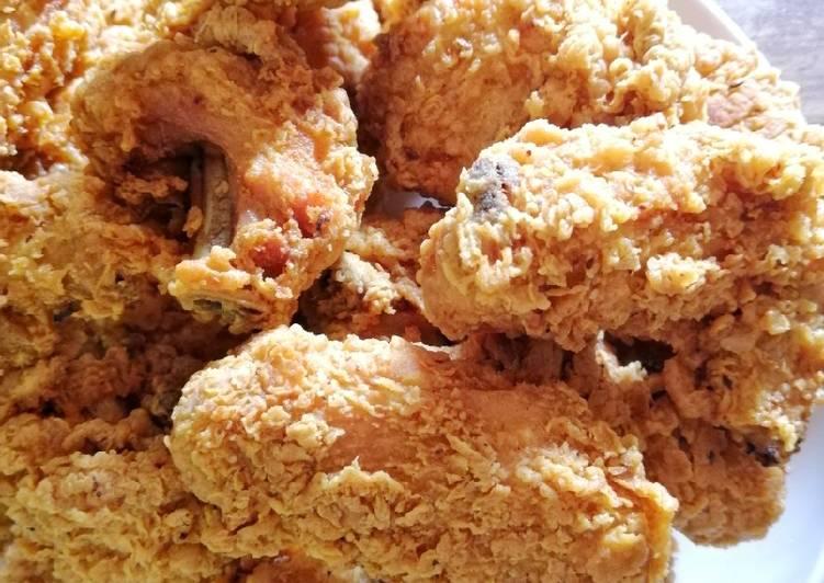 Ayam goreng crispy ❤️ - velavinkabakery.com