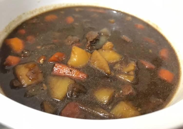 Semur sapi kentang wortel empukkk