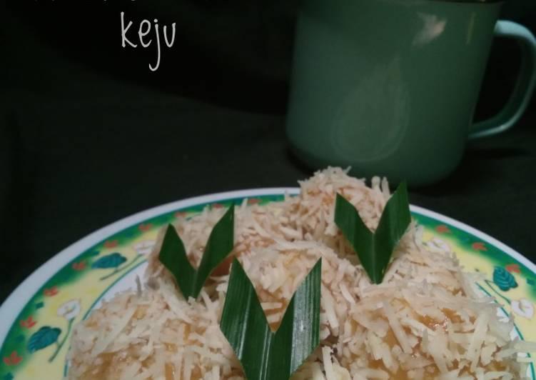 Resep Klepon ubi keju