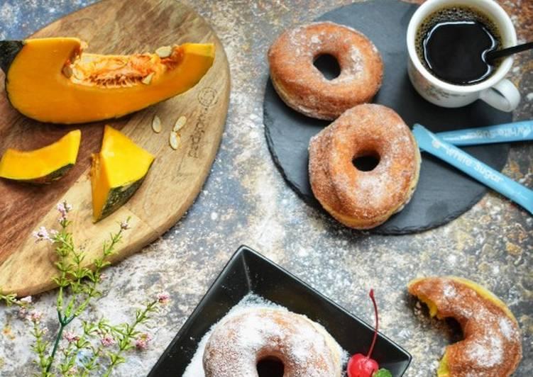Resepi:  Pumpkin Donuts #RayaHiTeaPertama #Johor Simple