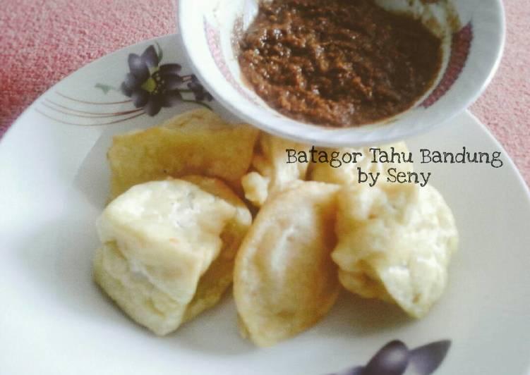 resep cara membuat Batagor Tahu Bandung (tanpa Ikan)