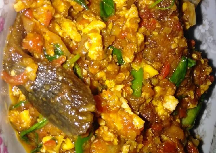 Ikan lele pedes jeletot, mudah dan enak