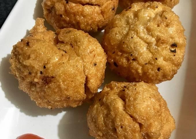 Baso Goreng Ayam Udang Super Enyak Kenyal dan Garing diluar