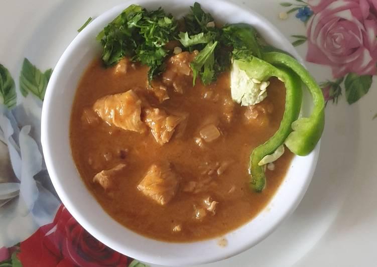 Chicken curry # 4week challenge
