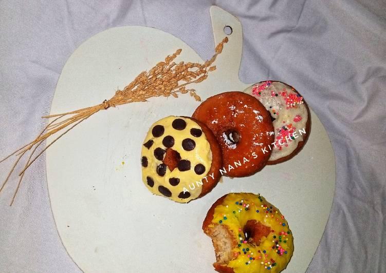 Wheat glazed doughnuts