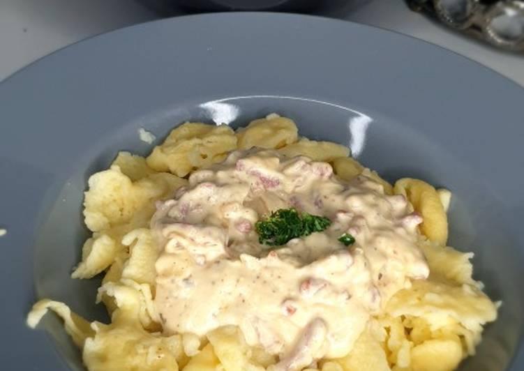 Recipe: Delicious Knepfle à la crème